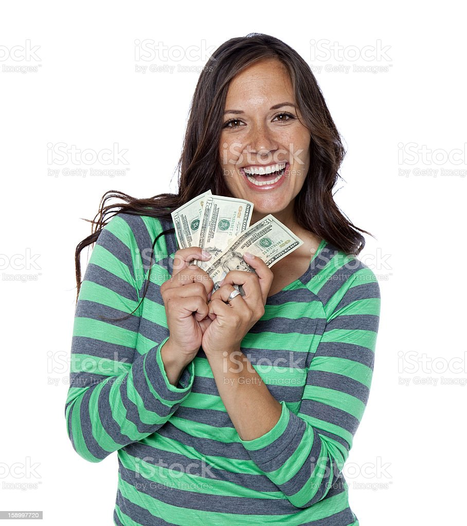 Royalty Free People Holding Money Pictures Images And