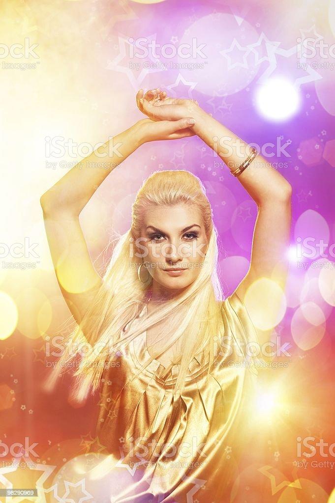 여성의 나이트 클럽 royalty-free 스톡 사진