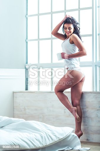 istock Woman in underwear 928822536