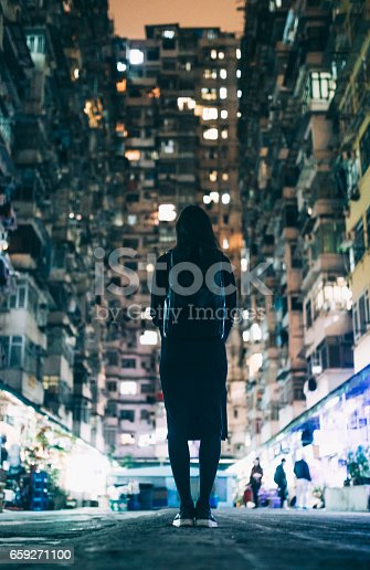 istock Woman in Urban Environment 659271100