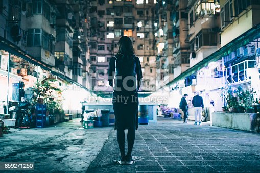 istock Woman in Urban Environment 659271250