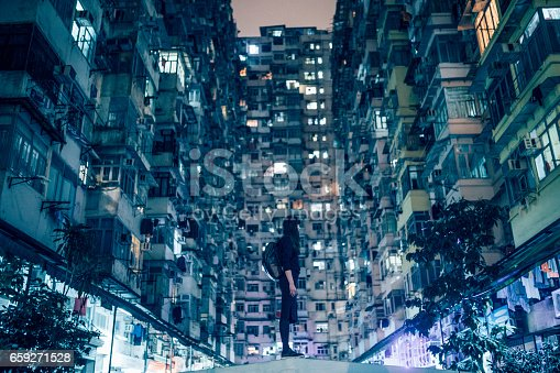 istock Woman in Urban Environment 659271528