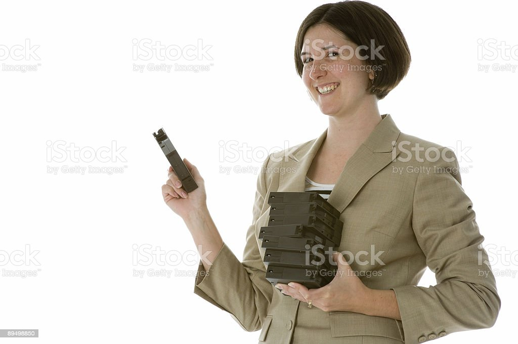 Woman IT Worker royalty-free stock photo