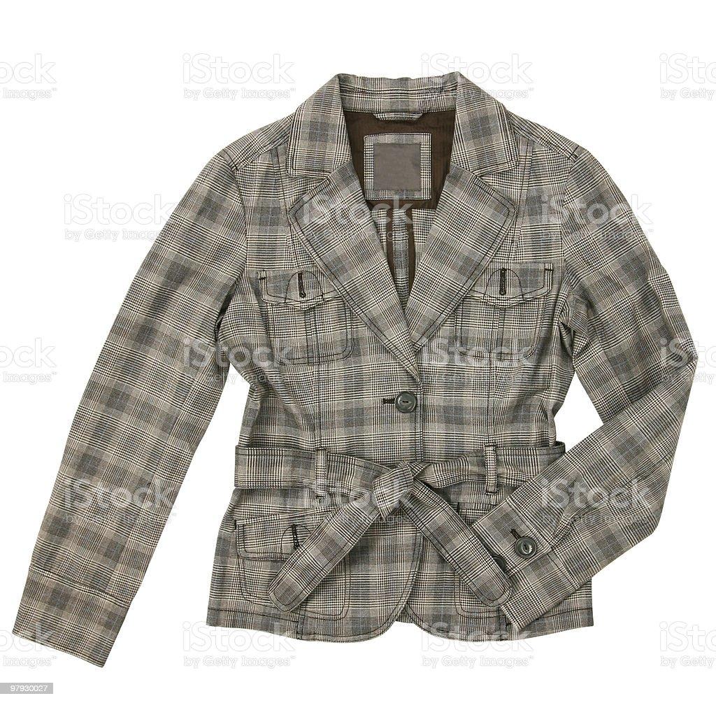Woman jacket royalty-free stock photo