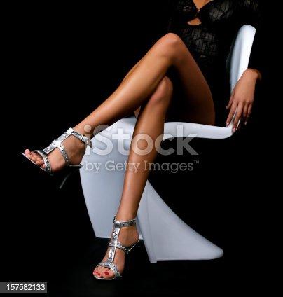 istock Woman legs 157582133