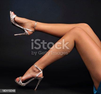 157582133 istock photo Woman Legs 182410243