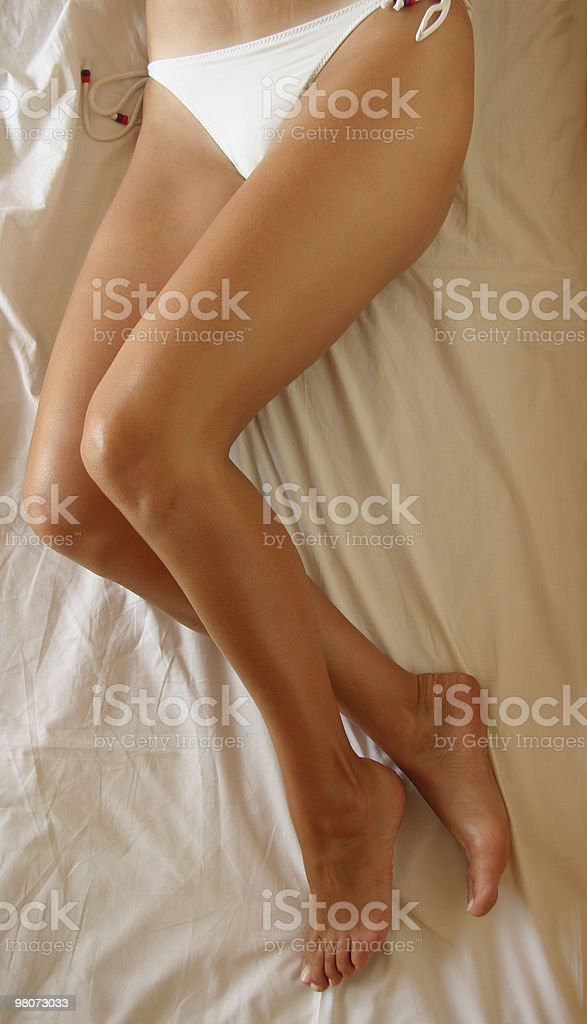 Donna gambe foto stock royalty-free