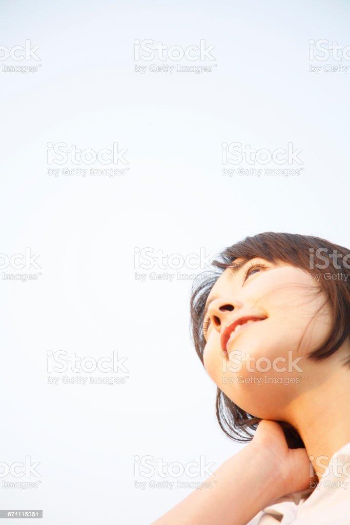 女人看 免版稅 stock photo