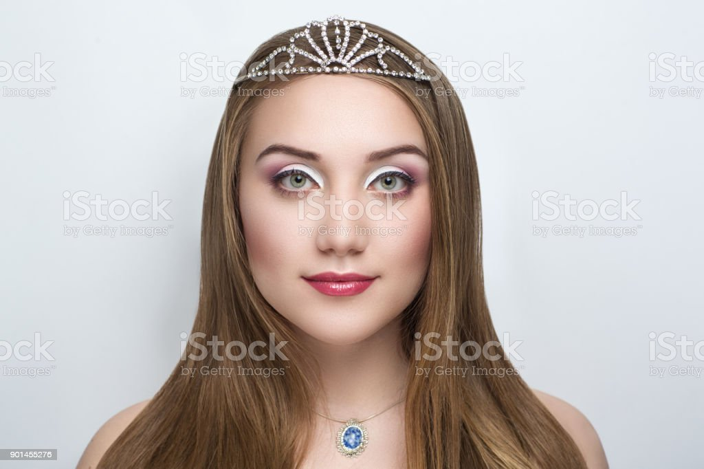 woman make up beauty fashion stock photo