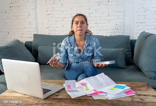 istock woman managing bills and finances 1011403810