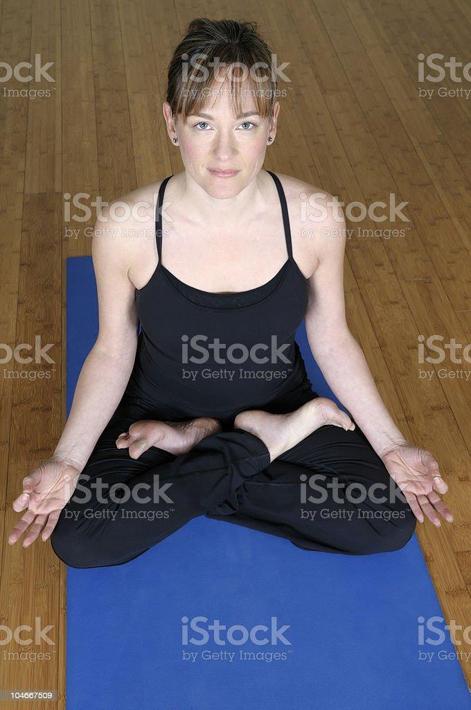Frau Meditieren – Foto