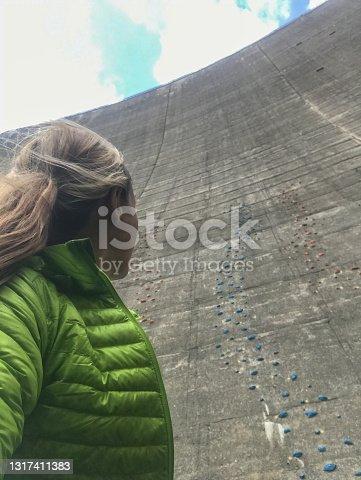 Extreme sport activities concept. Ticino canton, Switzerland
