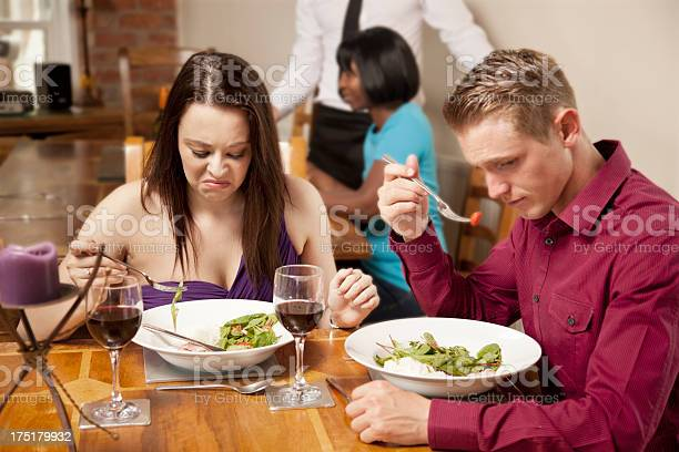 Woman Not Enjoying A Meal Stock Photo Download Image Now Istock