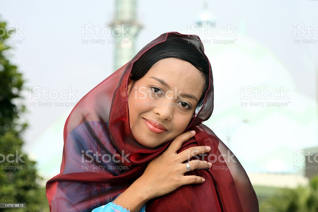 Woman of Islam royalty-free stock photo