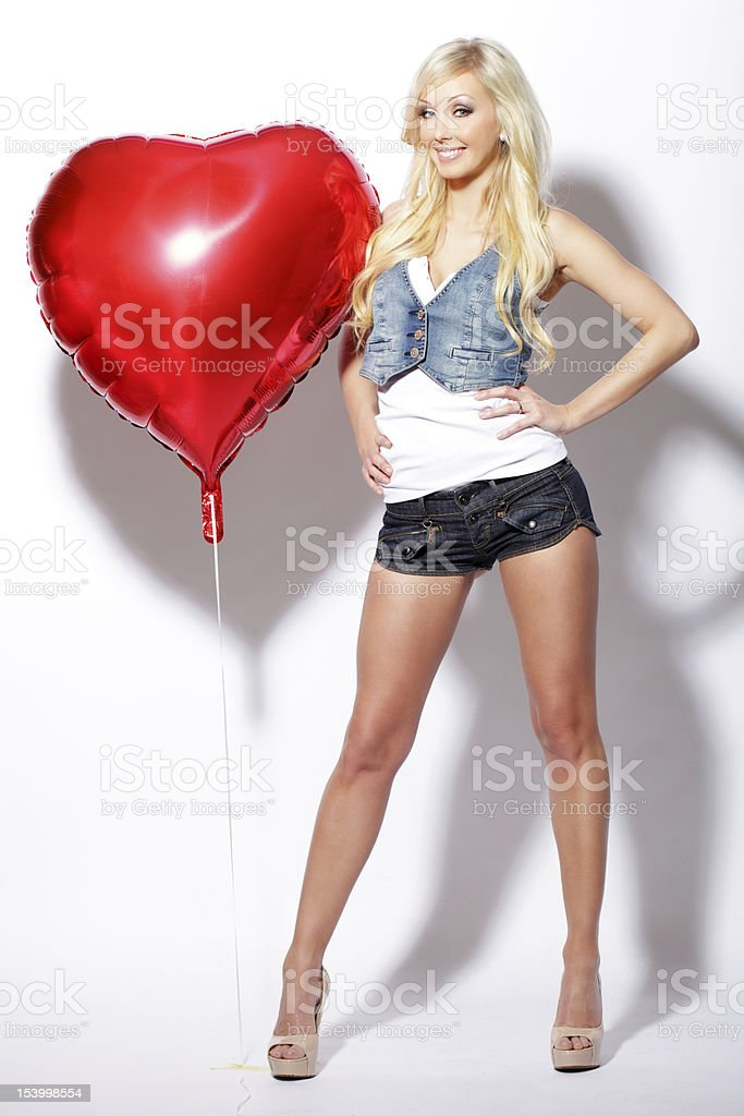 Woman of Love stock photo