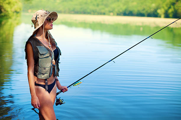 Royalty free sexy women fishing pictures images and stock for Sexy women fishing