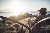 istock Woman on the road trip 923114822