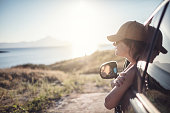 istock Woman on the road trip 923121252