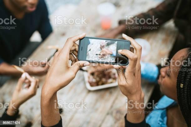 Woman photographing food truck life in new york picture id868627424?b=1&k=6&m=868627424&s=612x612&h=phojqrmhpdfhywldjyk0xja tdllczr0olka0 wxuju=