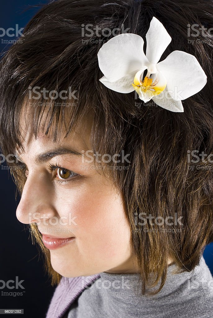 Woman royalty-free stock photo