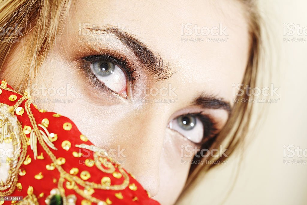 Donna foto stock royalty-free