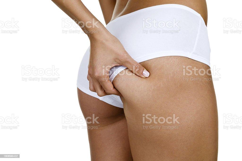 Mujer Pellizcar Grasas En La Nalga - Fotografía de stock y más ...
