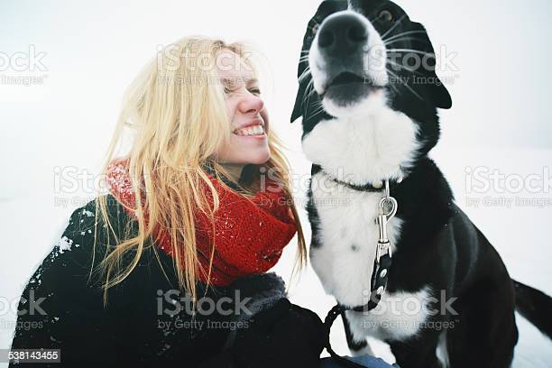 Woman playing with the dog in fresh snow picture id538143455?b=1&k=6&m=538143455&s=612x612&h=blubv09rniwlysvrs t6tra8zgkop980  w0dxgoo28=