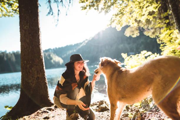 Woman playing with the dog in the mountain picture id801093172?b=1&k=6&m=801093172&s=612x612&w=0&h=ojrbagbjnpo0m6gbx2wsobqo2ukjqw7tzllvvddzt6w=