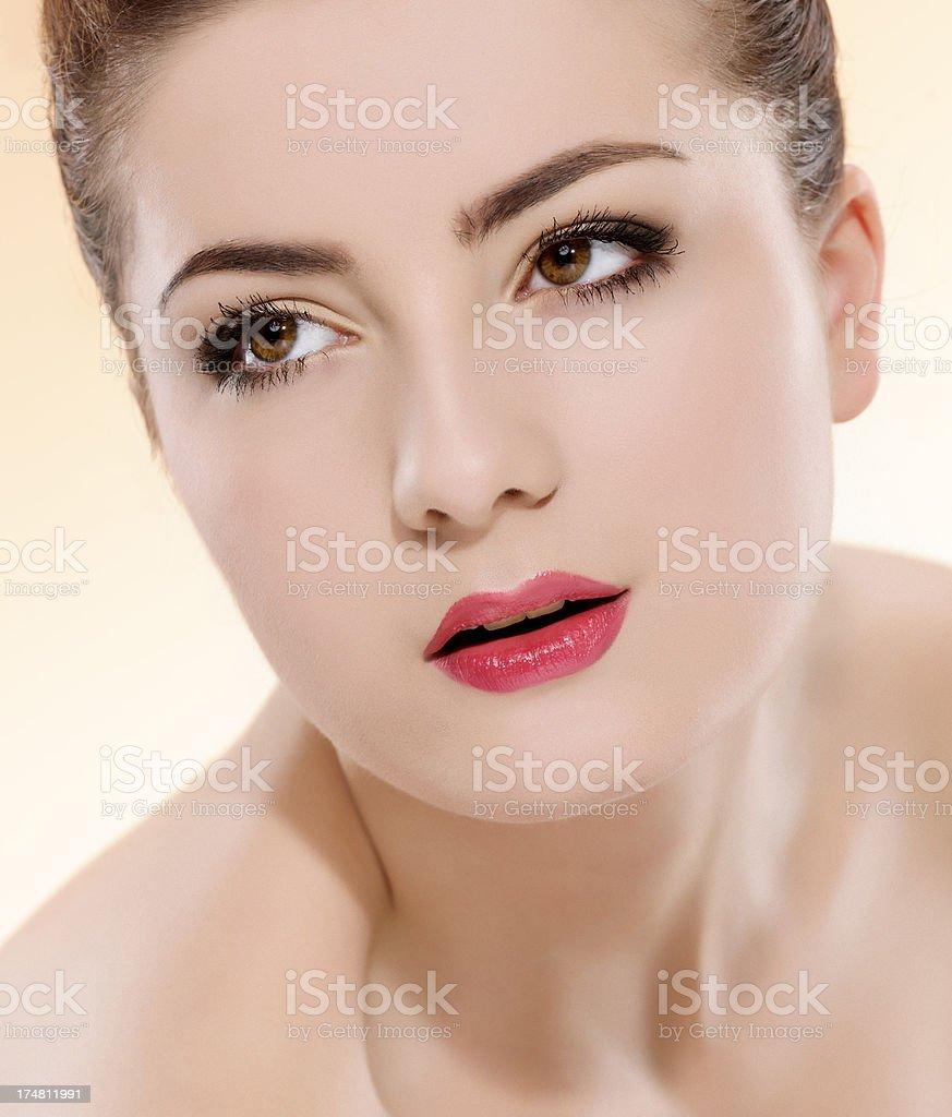 woman portrait royalty-free stock photo