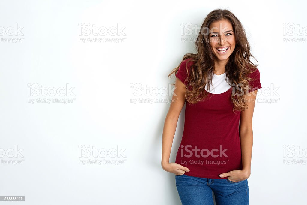 Woman portrait stock photo