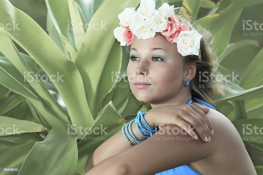 Ritratto di donna foto stock royalty-free