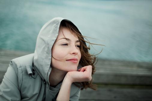 Girl portrait, shot taken in Wellington, New Zealand