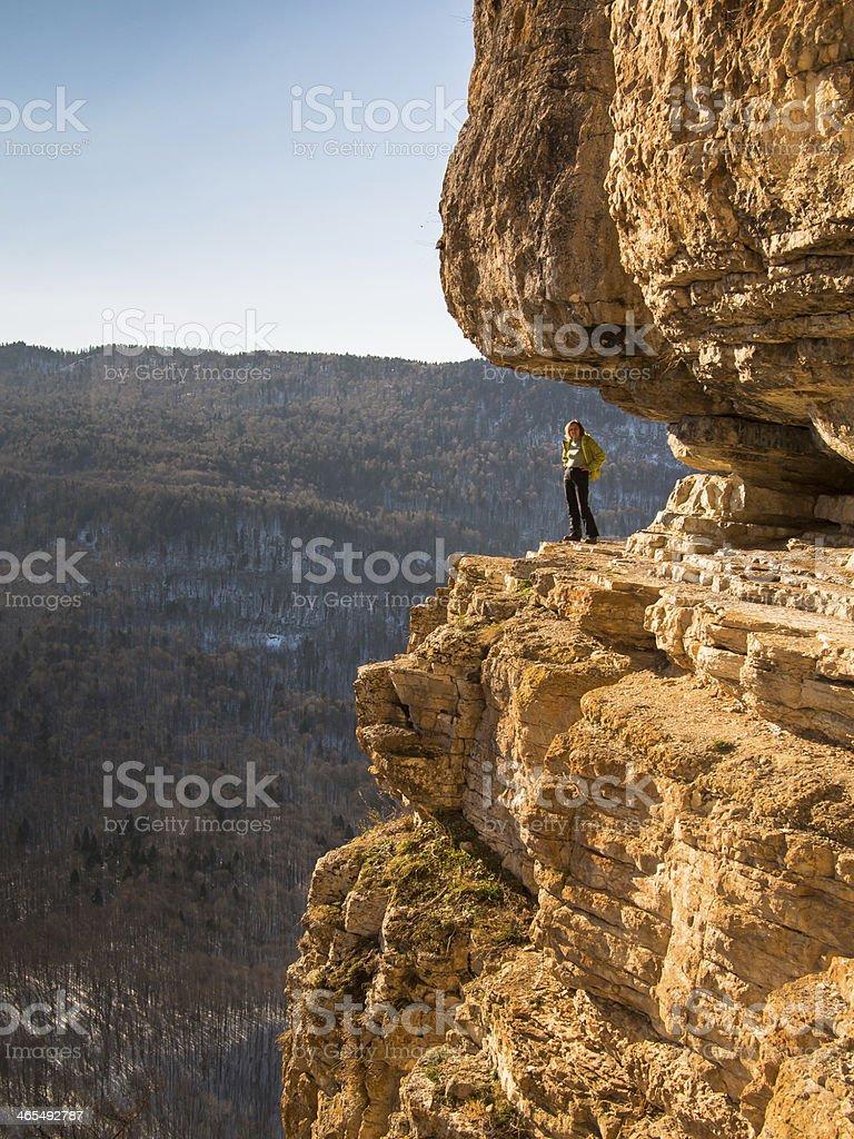 Woman posing standing stock photo