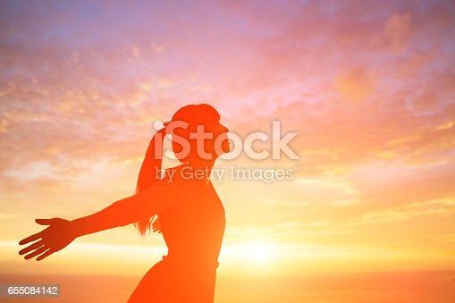 istock woman pray pious 655084142