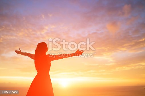 istock woman pray pious 655087458