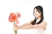 女性プレゼント花