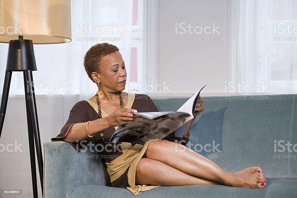 Woman リーティング』誌 ロイヤリティフリーストックフォト