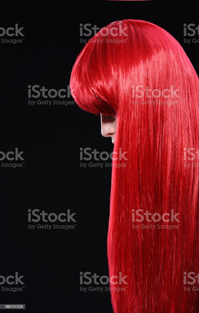 woman red hair royalty-free stock photo