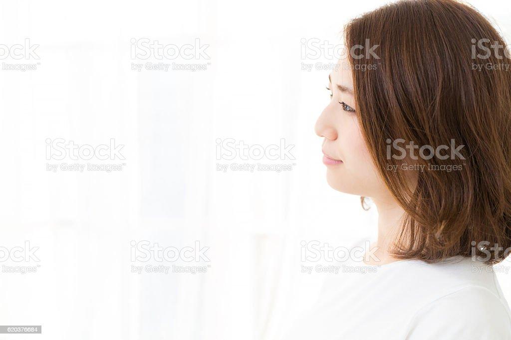 Kobieta relaksujący  zbiór zdjęć royalty-free