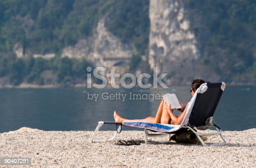 istock Woman relaxing 90407291