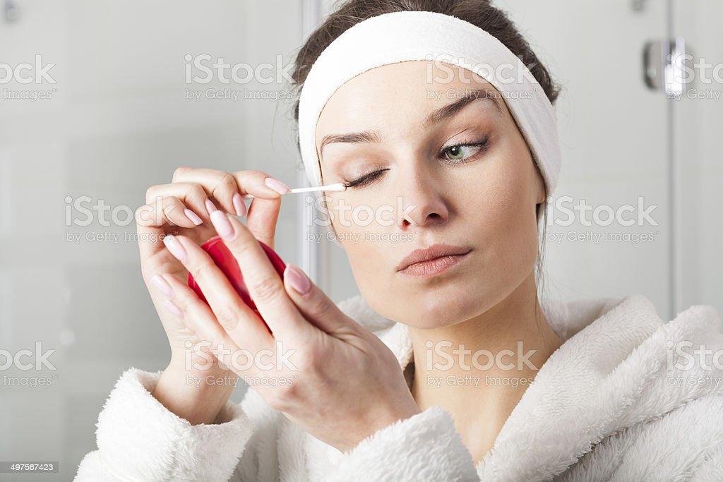Image result for make up after shower
