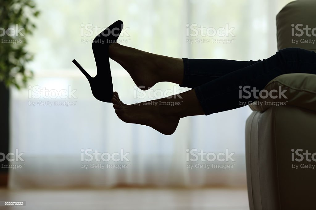 Image result for black woman taking off her heels