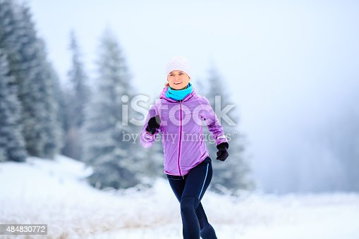 484750230 istock photo Woman running inspiration and motivation, runner 484830772