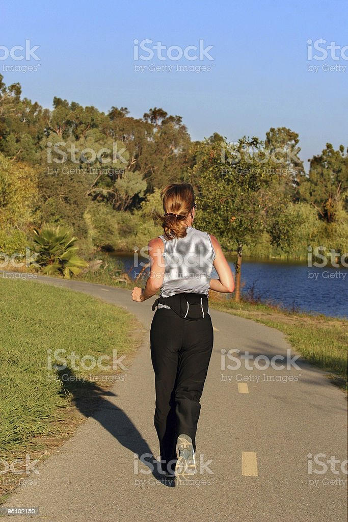 Woman running - Royalty-free Adult Stock Photo
