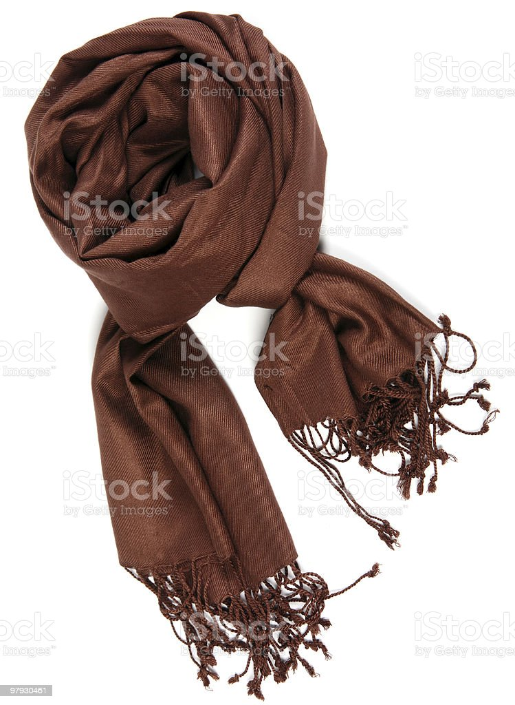 Woman scarf royalty-free stock photo