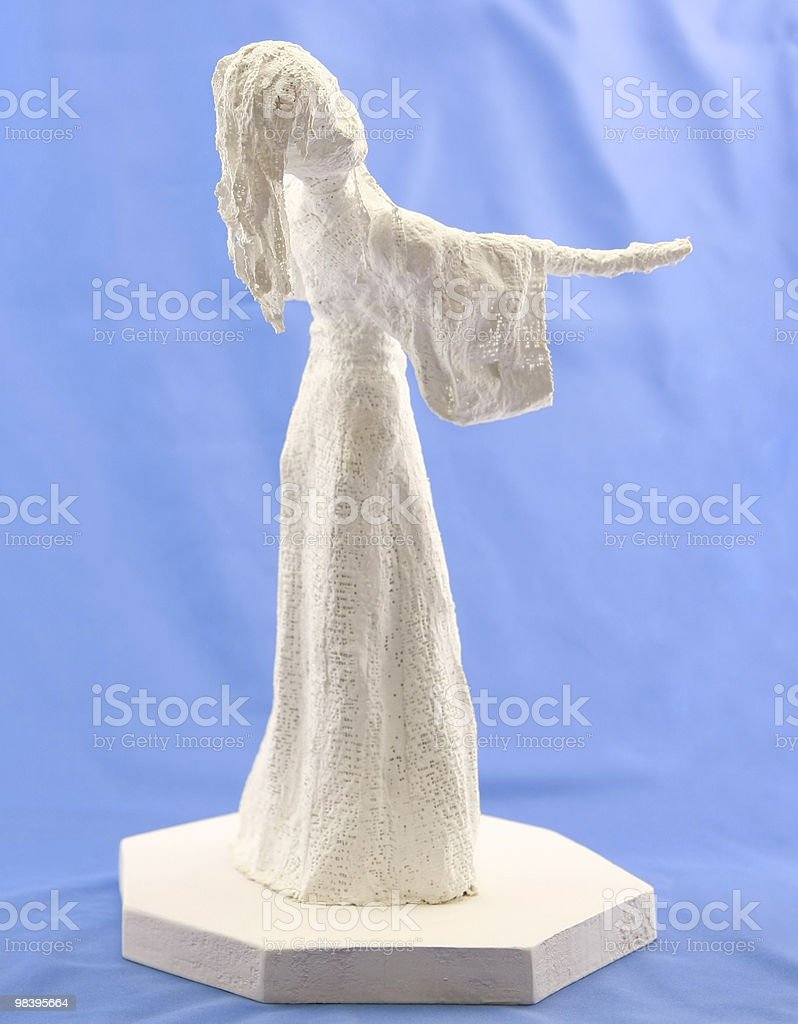 woman sculpture royalty-free stock photo