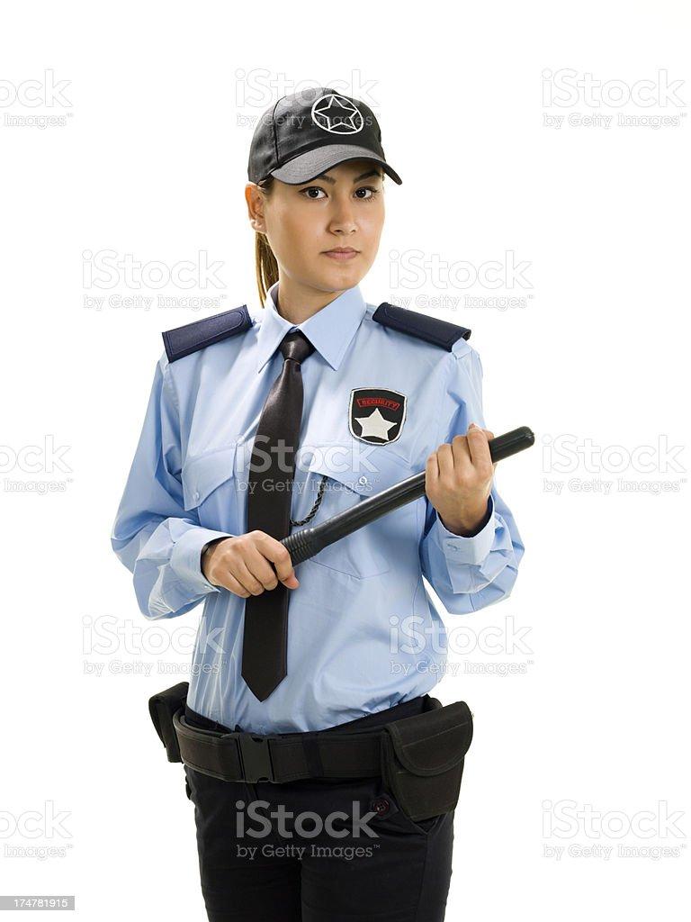 Охранник девушек