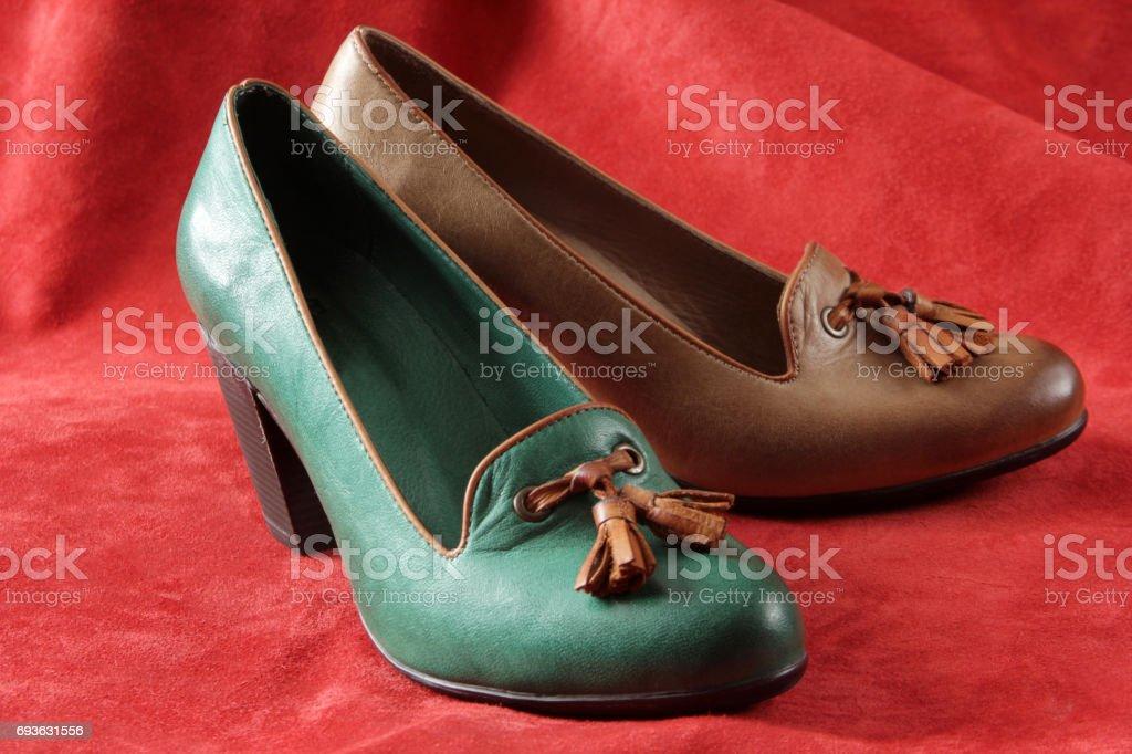 Woman Shoe stock photo