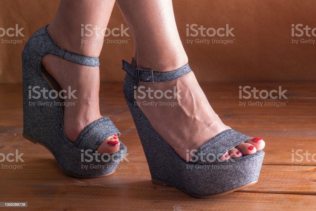 Kadın Ayakkabı stok fotoğrafı