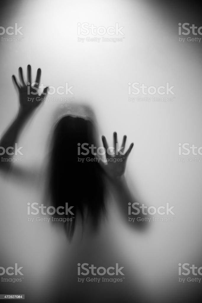 woman silhouette stock photo